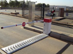 traffic light boom gate